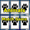 Click here & Play to Animals Match Game the online game !