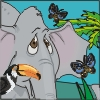 Click here & Play to Coloring Elephant the online game !