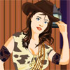 Click here &amp; Play to Cowgirl Dress Up the online game !