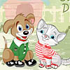 Click here & Play to Cute Pet Dressup the online game !