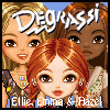 Click here & Play to Degrassi Style Dressup - Ellie, Emma & Hazel the online game !