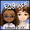 Click here & Play to Degrassi Style Dressup - Liberty &  J.T. the online game !