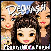 Click here & Play to Degrassi Style Dressup - Manny, Mia & Paige the online game !