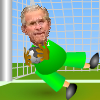 Click here & Play to George Bush New Job :Goalkeeper the online game !