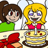 Click here & Play to Happy Birthday Coloring the online game !
