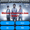 Click here & Play to Jonas Brothers Trivia the online game !