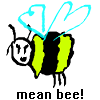 Click here & Play to Mean Bee! the online game !