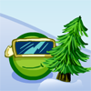 Click here & Play to Pea Ski 2 the online game !