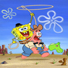 Click here & Play to SpongeBob Pest of the West Jigsaw Puzzle the online game !