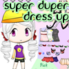 Click here & Play to Super Duper Dress Up Game the online game !